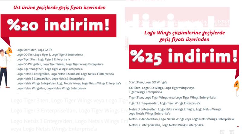 Kampanyalı fiyatlarla Logo'nuzu Web'e taşıyın ya da üst ürüne geçin